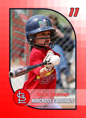 Norcross Cardinals Trading Cards