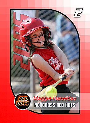 Norcross Red Hots Trading Cards